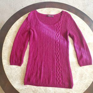 The Limited Medium Fuschia Sweater, pre-owned